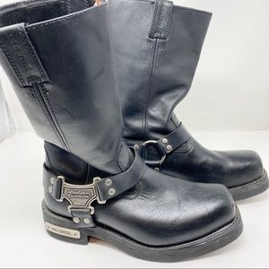 Harley Davidson Pull On Boots 9.5